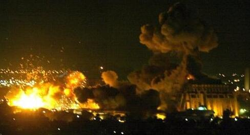 叙空军基地遭袭 叙启动防御系统成功拦截多枚导弹