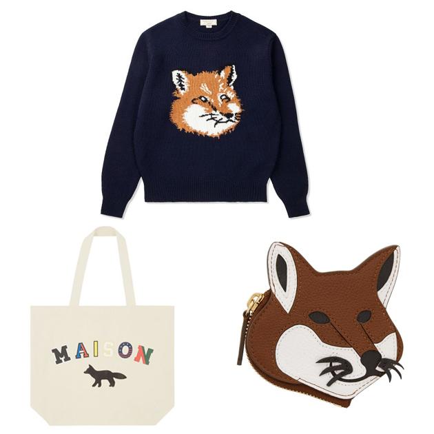 Maison Kitsune的小狐狸图案
