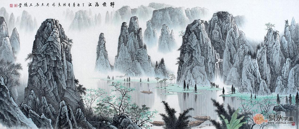 刘海清作品书画 收藏投资的不二选择
