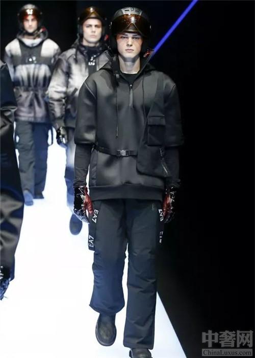 Emporio Armani秋冬男装 现代精英与老牌绅士的结合