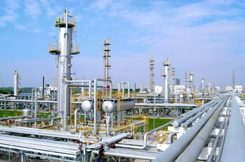 中海油米桑油田天然气处理厂投产