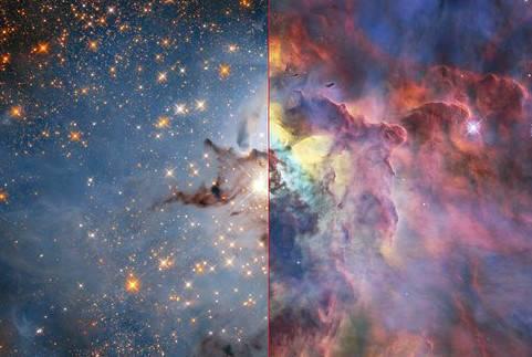 ESA公布巨型星云照 让无数人领略到浩瀚宇宙的神奇