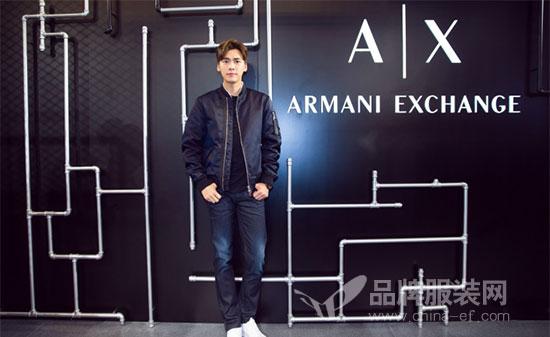 李易峰出席Armani Exchange上海长宁来福士精品店开幕式