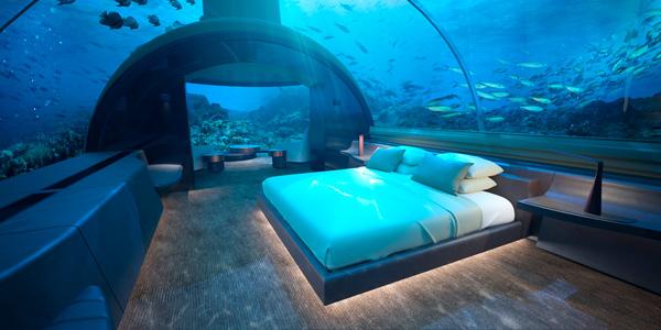 马尔代夫兴建全球首家海底寓所 斥资1500万美元