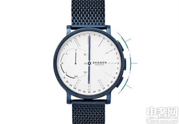 丹麦SKAGEN高科技智能复合腕表