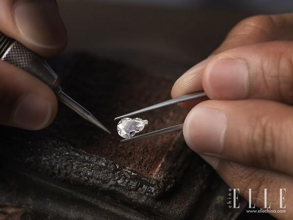 Qeelin全新的钻石项链系列 呈现Wulu这个Qeelin的经典设计