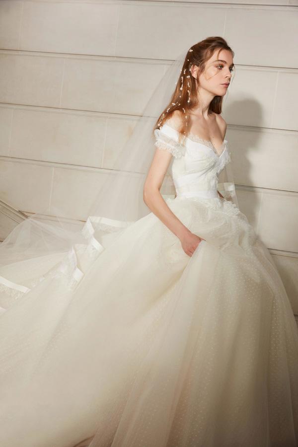 Elie Saab 2019春夏婚纱系列型录