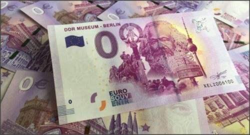 德国掀纪念马克思热潮 特里尔政府发行零欧元马克思纪念钞