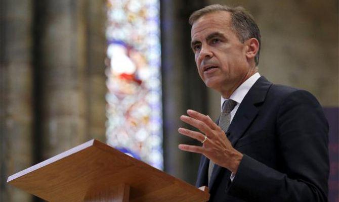 卡尼暗示英银加息非已成定局 英镑年底或涨至1.48