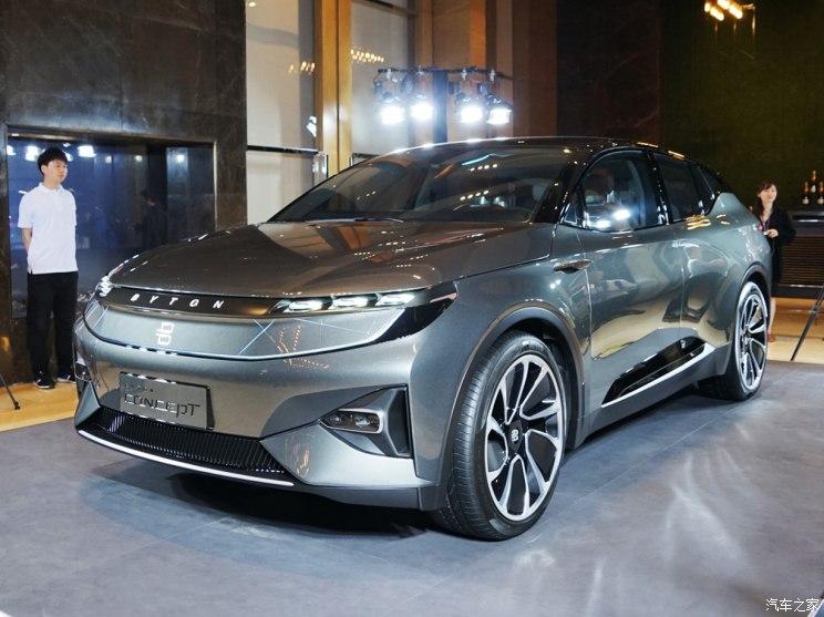 拜腾旗下首款概念车BYTON Concept国内首次公开亮相