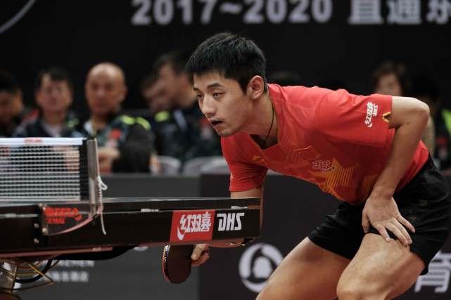 张继科报名中国公开赛 时隔半年再次亮相正式国际赛场