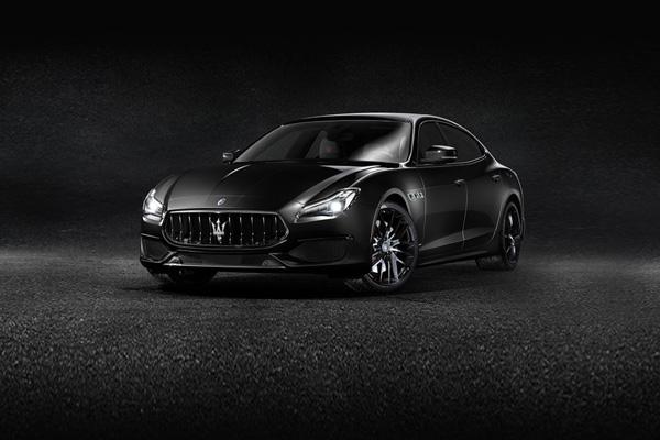 玛莎拉蒂轿跑经典之作 Quattroporte系列极致黑