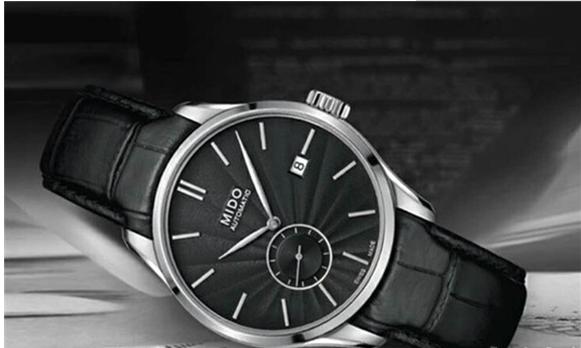 美度布鲁纳系列腕表 低调高雅