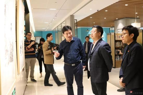 江苏中国画学会艺术家作品展 扬子云书房开展