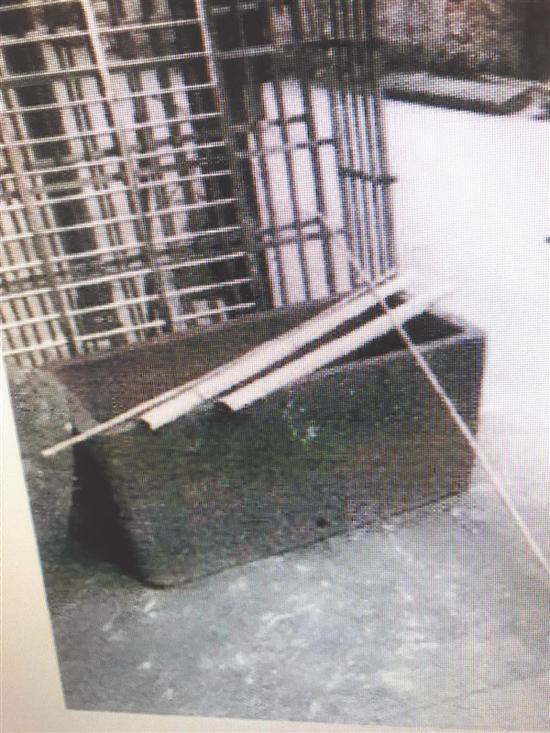 路边石制水槽被偷竟是清朝古董