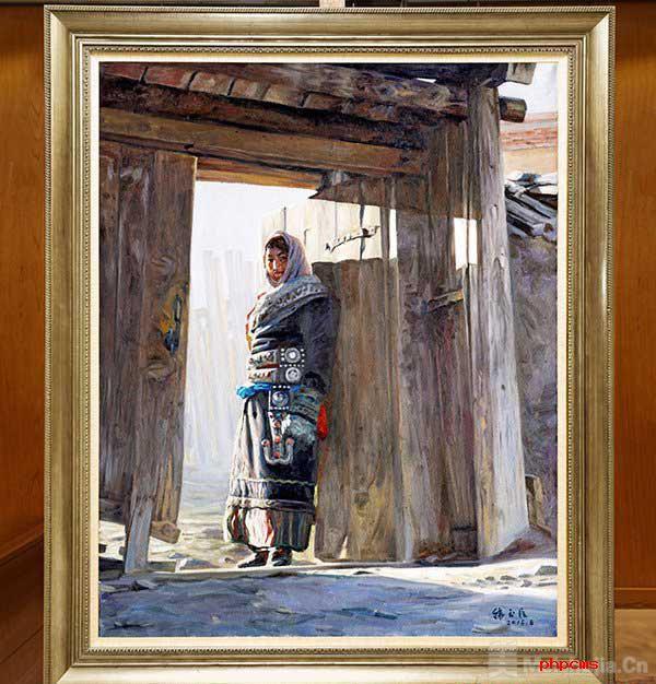 油画作品《守望》捐赠仪式在中国美术馆举行