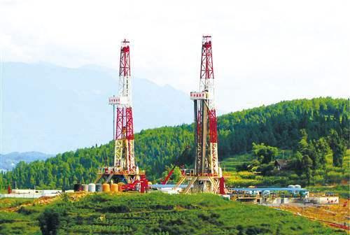 大足西南油气田页岩气水平井成功获得工业气流