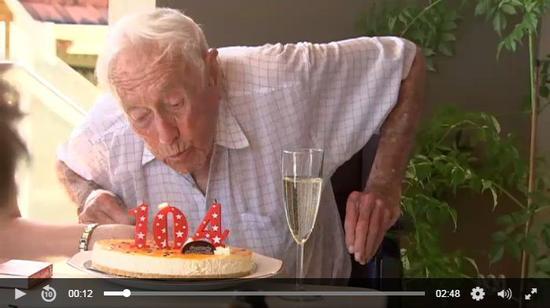 104岁科学家安乐死 觉得活太久了已经准备好离开这个世界