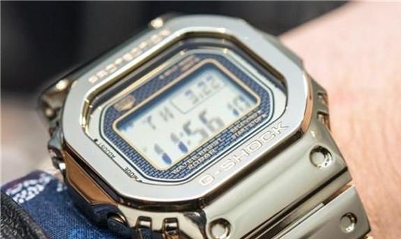 卡西欧G-Shock系列金属腕表