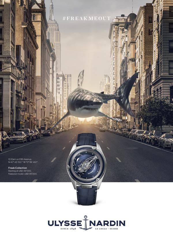 雅典表发布全新广告 致敬海洋渊源