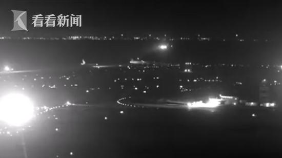 客机惊魂降落画面曝光 险些酿成空难