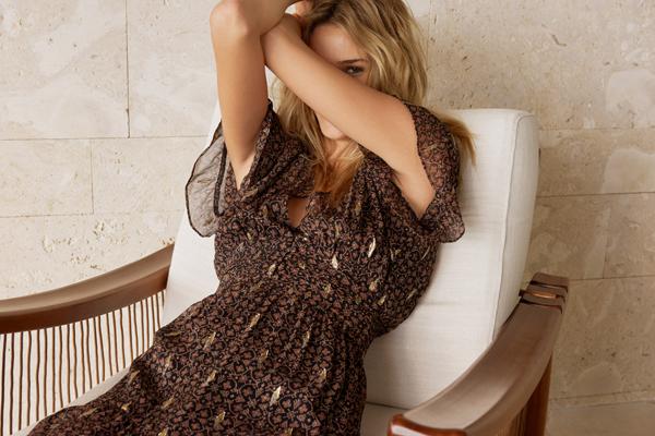法国轻奢女装ba&sh 18年春夏长裙系列