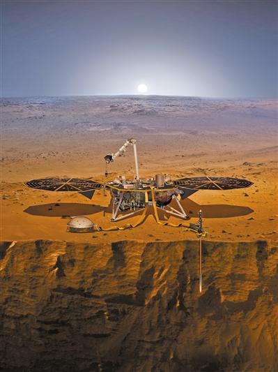 美航天局发射洞察号探测火星