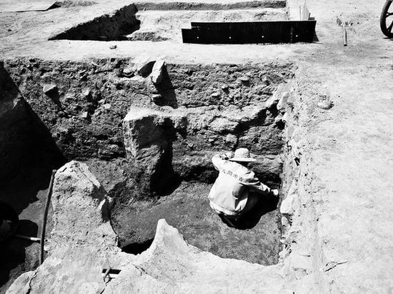 大同工地发现北魏寺庙遗址