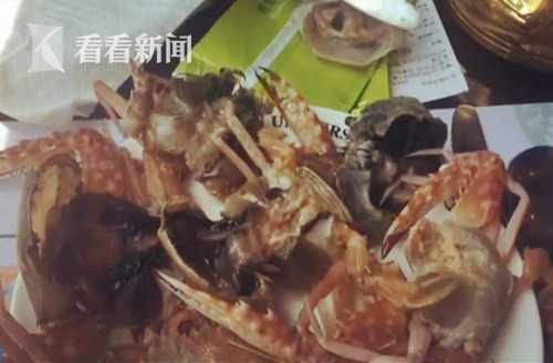 吃自助餐6只螃蟹4只臭 店家称本来就是这样