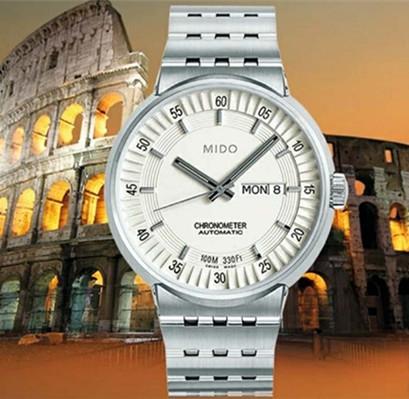 美度ALL DIAL系列腕表 设计灵感源于罗马竞技场