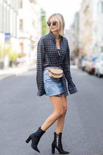夏季短裙搭配技巧 让你玩转夏天