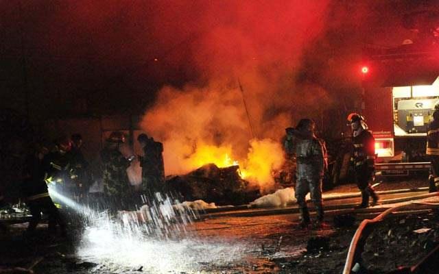 韩国京畿道发生液化气爆炸事故 造成1人死亡