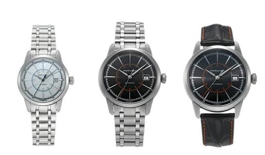 汉密尔顿铁路系列腕表 感受奢华气质