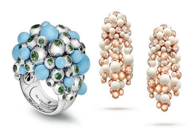 瑞士珠宝品牌de Grisogono新一季珠宝系列——Gaïa_珠宝图片