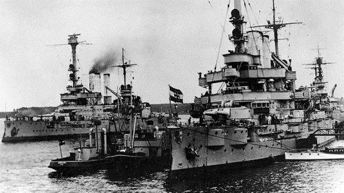 德意志帝国公海舰队兵变 原因令人咋舌