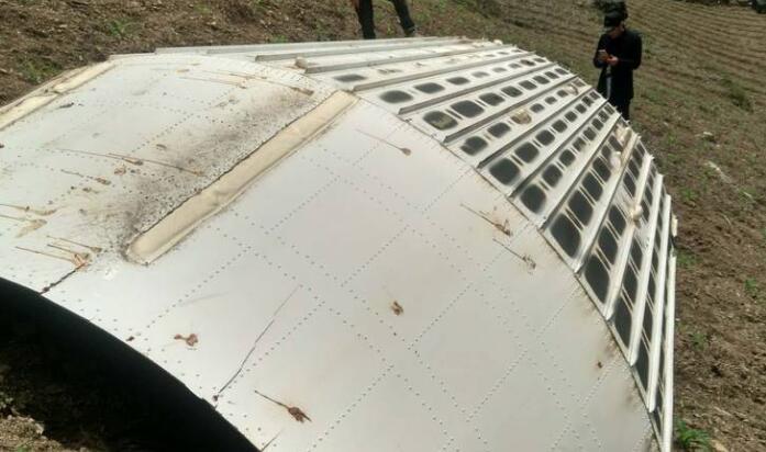 卫星残骸坠落湖北 目前现场已被保护