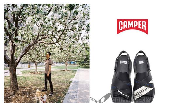 时尚博主们精彩演绎Camper鞋