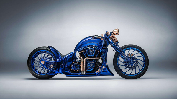 史上最贵摩托车 哈雷戴维森和宝齐莱联合打造