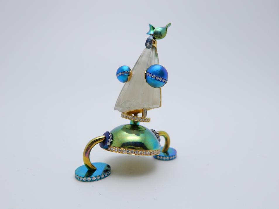 2018上海国际珠宝首饰展览会GAC独立首饰设计师联展 玩转色彩超吸睛
