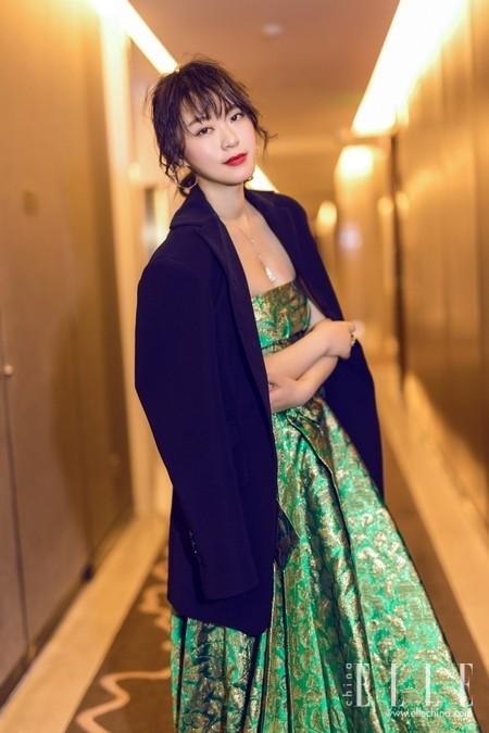 黄璐佩戴TSL | 謝瑞麟珠宝亮相北京国际电影节闭幕式
