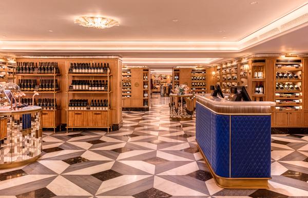 伦敦哈罗德百货宣布美酒体验空间正式开放