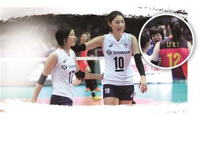 中国女排0-3韩国 这是输得最惨的一次