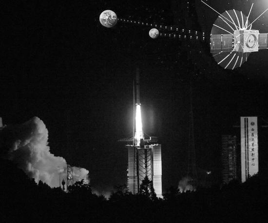 5月21日5时28分 中继星鹊桥成功发射