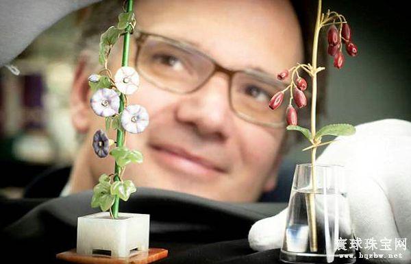 费伯奇花宝石花束估价50万英镑 将在6月11日公开拍卖