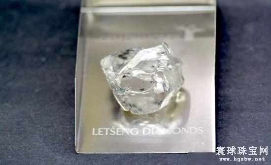 莱索托王国矿区开采出一颗115ct的宝石级钻石原石