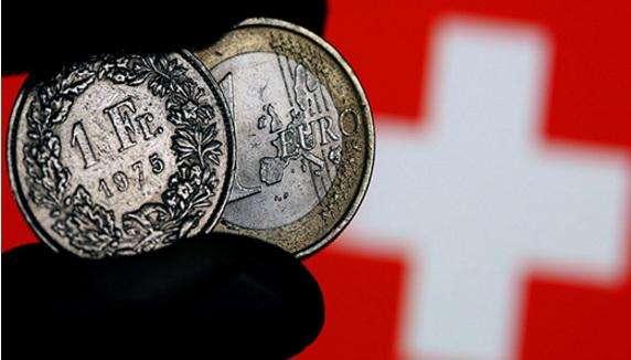 """欧元崩跌拖累瑞郎 瑞士央行吓得""""抖三抖""""!"""