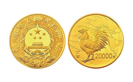 2017年鸡年纪念币有哪些价值?