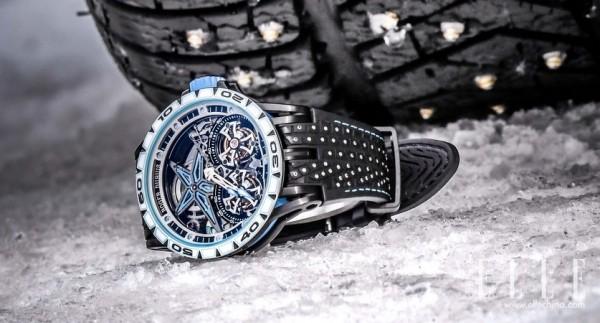 罗杰杜彼Excalibur Spider Pirelli SOTTOZERO™腕表傲然问世