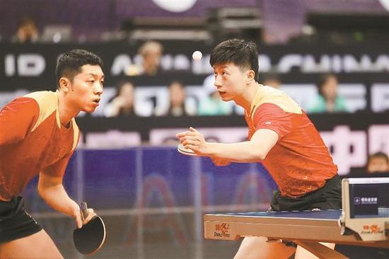 中国乒乓球深圳公开赛 许昕爆冷被淘汰
