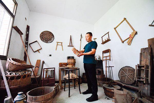 收藏满屋老物件 记录农耕文明